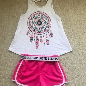Outfit for summer from Justice